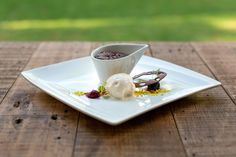 Chocolate dessert #atholplace#gourmet