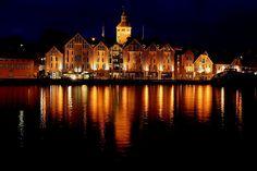 Stavanger by night, Norway
