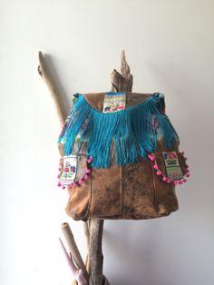 OOAK Boho BackPack [ handmade by Jardimdevidro]