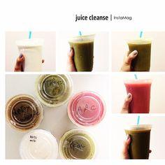 ジュースクレンジング終了! ジュースうますぎー! energize (リンゴ,ジンジャー,レモン,ほうれん草) ↓ detox sweet (ケール,ほうれん草,キャベツ,ニンジ | OnInStagram