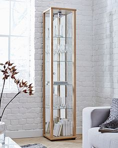 Single Glass Display Unit | Home Essentials