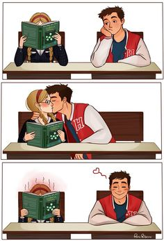 Nerd e Esportista Cute Couple Comics, Couples Comics, Cute Couple Art, Anime Love Couple, Cute Anime Couples, Geek Couple, Relationship Comics, Cute Relationship Goals, Cute Relationships