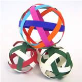 """simple christmas decorations to make"" - Google Search (looks easy-just strips of paper)"