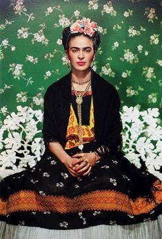 Frida Kohla Canvas Paper Art Print, Poster, Large Picture or Mexican Female Artist Icon Diego Rivera, Georgia O Keeffe, Iconic Photos, London Photos, Ansel Adams, Frida E Diego, Frida Paintings, Nickolas Muray, Famous Portraits