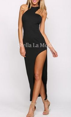 $29.99 Asymmetric Maxi Long Fitted Party Dress