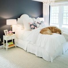 love this white bedding bedroom by @stylemepretty #whitebedroom #instalove #bedroomdecor #bedroom #interiordesign #interiordecor