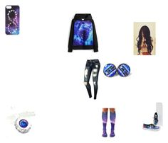 """""""galaxy i guess."""" by melaynebruce ❤ liked on Polyvore featuring Disney and Vans"""