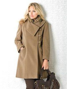 Classic Dress Coat | Plus Size Coats & Jackets | OneStopPlus