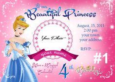 disney princess cinderella digital invitation by bulustalan