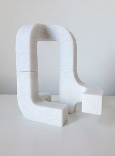 white - sculpture - marble -  Stephen  Ormandy
