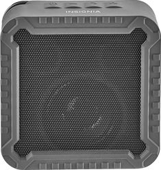Insignia™ - Portable Bluetooth Speaker - Black, NS-CSPBTF1-BK