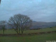 castelldinas talgarth directions - Brecon Beacons National Park, Wales
