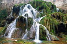 Tuffiere du Dard waterfall - Jura Mountains, France