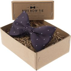 Mrs Bow Tie Dr. Who 50th Anniversary Ready-Tied Bow Tie | Dark Purple  after finishing season 501 I might actually get one sometime