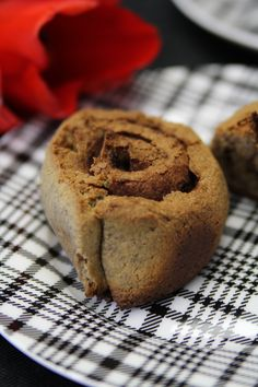 A yeast-based paleo bread recipe used to  create a paleo adaptation of cinnamon buns.