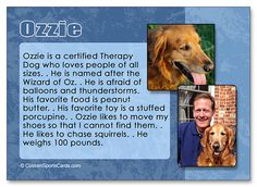 A little about Ozzie... http://www.customsportscards.com/select.cfm/Custom-Trading-Cards/Pets/