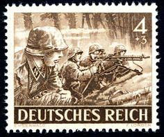 1943 Dotación de ametralladora MG 43 (fuerzas armadas, SS armadas (2/12)