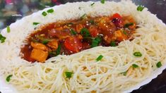 chicken pot rice and noodles 🍜... restaurant style...... - YouTube Maggi Recipes, Tasty, Yummy Food, Noodles, Spaghetti, Rice, Restaurant, Chicken, Ethnic Recipes