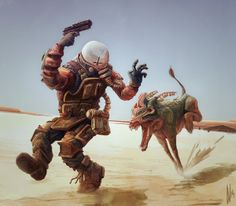 Beware of the Dog by Dirk Wachsmuth, via Behance