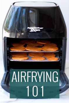 Everything you need to know about an air fryer and more! We'll tell you what it does, what to buy and what you can do with it! Everything you need to know about an air fryer - Power Air Fryer Recipes, Air Fryer Recipes Appetizers, Air Fryer Recipes Snacks, Air Fryer Recipes Vegetarian, Air Fryer Recipes Low Carb, Air Fryer Recipes Breakfast, Air Frier Recipes, Air Fryer Dinner Recipes, Power Airfryer Xl Recipes