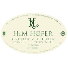 Hofer Gruner Veltliner (1 Liter) 2015