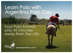 Polo at the Capital of the World #argentinapoloday #poloargentino #poloschool #poloholidays