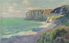 Cliffs at Saint Jouin - Gustave Loiseau, 1907