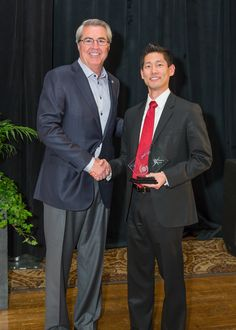 James Lee and Dave North, President & CEO of Sedgwick
