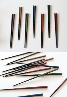 엘 광주요 채색 젓가락 / L Kwangjuyo colored chopsticks (purple,plum,beige,green) / 12,000 won