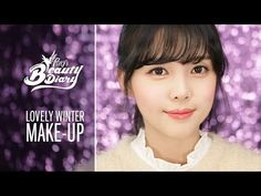 Pony's Beauty Diary - Lovely Winter Make-Up (with subs) 러블리 윈터 메이크업