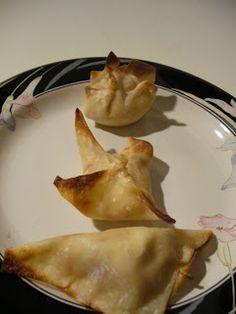 Weight Watchers - Baked Crab Rangoon!!!