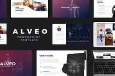 Template de PowerPoint Minimalista Alveo  Alveo é um modelo de PowerPoint minimalista moderno e criativo adequado para portfólio pessoal, agência de criação, portfólio de designer, portfólio do Illustrator, portfólio de fotógrafo e muito mais. Seu apenas como fácil personalizar para caber suas necessidades, substitui imagens e textos.