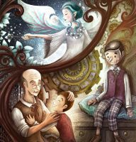Geppetto's Story by papercaptain