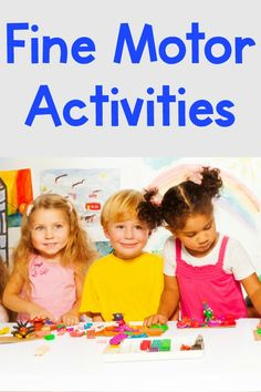 Fine motor activities for the classroom! check out these great fine motor activities for kids with many different themes such … Fine Motor Activities For Kids, Motor Skills Activities, Sensory Activities, Hands On Activities, Therapy Activities, Fine Motor Skills, Physical Activities, Sensory Play, Therapy Ideas