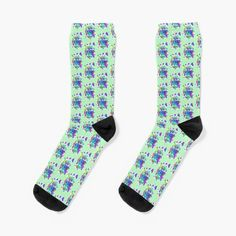 Leaves and Flowers Abstraction abstract Floral Boho design, nr 5, Floral Abstract Art, Inspired by Nature Socks Funky Socks, Novelty Socks, Boho Designs, Designer Socks, Streetwear Fashion, Chic Outfits, Winter Outfits, Abstract Art, Leaves