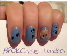 Boo the dog nails those are the best nails i have ever seen in my whole life! I could just go on, and on about these nails! I mean look at them. I can tell these are my type on nails. Are those fake, or real because I want to know. If they are fake, I will buy them right this second! If they are fake, I will either try to do them by a guide from the internet of course, or just find other fake nails that aren't too long and are cute. Of course I don't know why this pin speech is so long. Well…