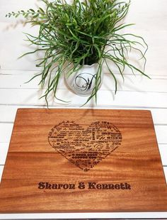 Cutting Board Personalized Cutting Board by SouthernManStudio