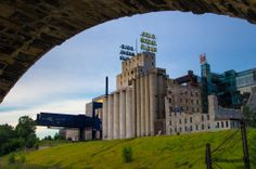The Mill Ruins Park in Minneapolis.