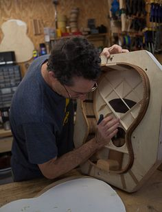 Chechen Guitar Construction, Voicing the Top, Lichty Guitars