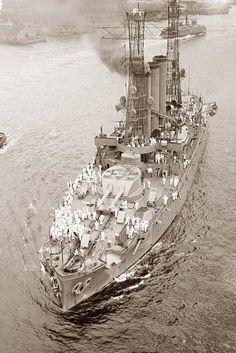 USS MAINE during World War I.