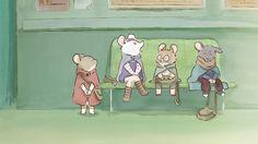 ernest et celestine Ernest Et Celestine, Pig Pics, Character Reference Sheet, Mouse Illustration, Film D, Kids Story Books, Anthro Furry, Environmental Art, Cartoon Drawings