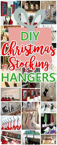 50 best diy christmas garland decorating ideas diy christmas the best diy christmas stocking hangers and display ideas cheap and easy handmade holiday decorations solutioingenieria