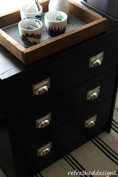 DIY: comment transformer une commode Ikea Rast