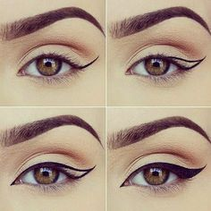 How to Apply Eyeliner. Eyeliner can help make your eyes stand out or look bigger, and it can even change their shape. Even if you've never worn eyeliner before, all it takes is a little practice to take your makeup to the next level! Makeup Tutorial Eyeliner, Eyeliner Hacks, No Eyeliner Makeup, Eye Makeup Tips, Smokey Eye Makeup, Makeup Inspo, Beauty Makeup, Eyeliner Pencil, Makeup Ideas