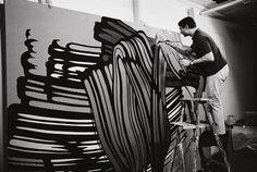 Roy #Lichtenstein. #NuevaYork, 1964. Fotografía de #UgoMulas