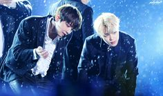 •161118 JIMIN & TAEHYUNG #BTS @ KBS Music Bank Special 'Hope Race Together with Korea'