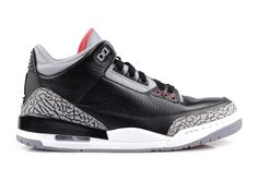 Air Jordan III Black Cement....I need someone to buy me these.