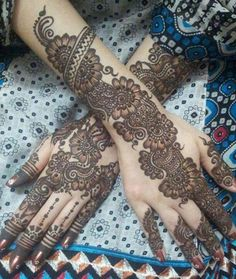 20 Beautful Henna Designs For Nikah