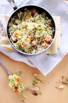 Curry de riz végétarien - Chef Nini