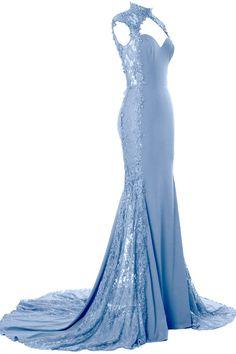 Formal Dresses For Weddings, Wedding Dresses, Mermaid Prom Dresses, Evening Gowns, Mermaid Evening Gown, Pretty Dresses, Beautiful Dresses, Military Ball, High Neck Formal Dress